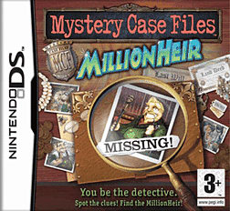 Mystery Case Files: Millionheir DSi and DS Lite Cover Art