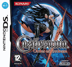 Castlevania: Order of Ecclesia DSi and DS Lite