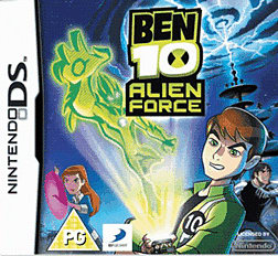 Ben 10: Alien Force DSi and DS Lite Cover Art