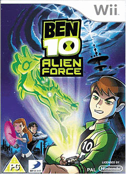 Ben 10: Alien Force Wii Cover Art