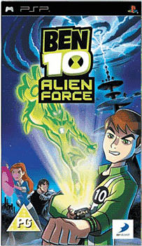 Ben 10: Alien Force PSP Cover Art