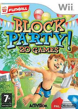 Block Party Wii Cover Art