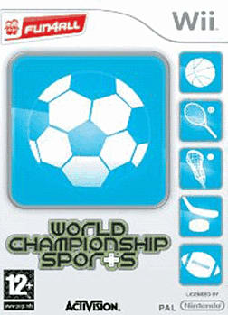 World Championship Sports Wii Cover Art