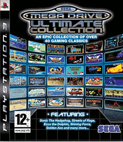 Sega Mega Drive Ultimate Collection PlayStation 3 Cover Art