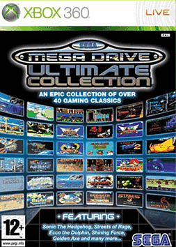 Sega Mega Drive Ultimate Collection Xbox 360 Cover Art