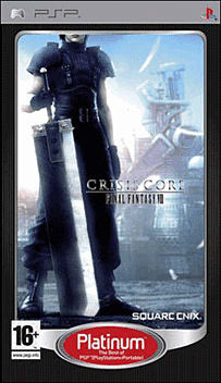 Crisis Core: Final Fantasy VII - Platinum PSP Cover Art