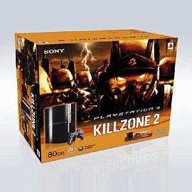 Sony PlayStation 3 80GB Console with Killzone 2 PlayStation 3