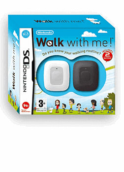Walk With Me! Do You Know Your Walking Routine? DSi and DS Lite Cover Art
