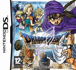 Dragon Quest V: Hand of the Heavenly Bride DSi and DS Lite Cover Art