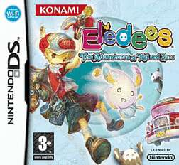 Eledees- Adventures of Kai and Zero DSi and DS Lite Cover Art