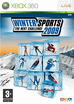 Winter Sports 2009: The Next Challenge Xbox 360 Cover Art