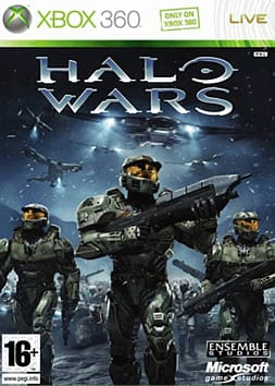 Halo Wars Xbox 360 Cover Art