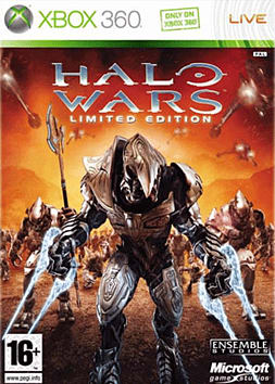 Halo Wars Limited Collectors Edition Xbox 360 Cover Art