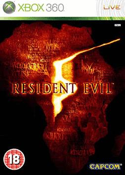 Resident Evil 5 Xbox 360 Cover Art