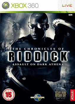 The Chronicles of Riddick: Assault on Dark Athena Xbox 360 Cover Art
