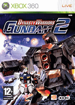 Dynasty Warriors Gundam 2 Xbox 360 Cover Art