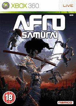 Afro Samurai Xbox 360 Cover Art