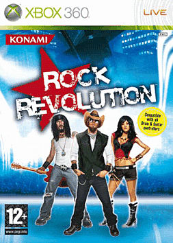 Rock Revolution Xbox 360 Cover Art