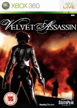 Velvet Assassin Xbox 360 Cover Art