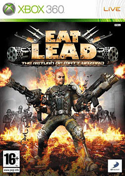 Eat Lead Xbox 360 Cover Art
