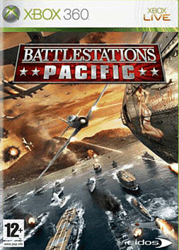 Battlestations Pacific Xbox 360 Cover Art