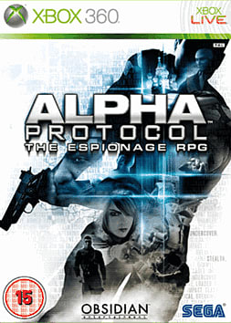Alpha Protocol Xbox 360 Cover Art