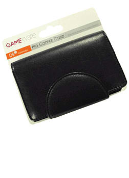 GAMEware Leather Play Case - Black for DSI Accessories