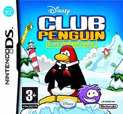 Club Penguin: Elite Penguin Force DSi and DS Lite Cover Art