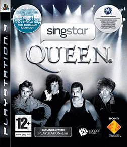 SingStar: Queen PlayStation 3 Cover Art