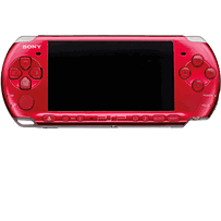 Sony PSP 3000 Console (Radiant Red) PSP 
