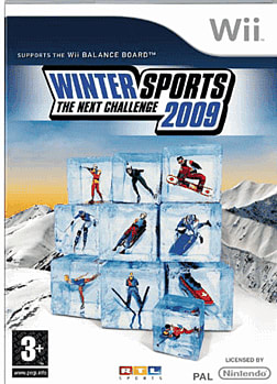 Winter Sports 2009: The Next Challenge (Wii Balance Board Compatible) Wii Cover Art