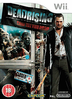 Dead Rising: Chop Till You Drop Wii Cover Art