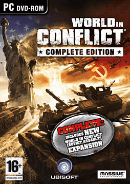 World in Conflict: Complete Edition including Soviet Strike Expansion Pack PC Games and Downloads Cover Art