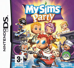 MySims Party DSi and DS Lite Cover Art