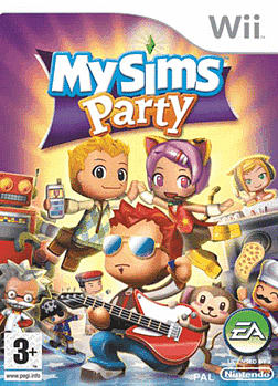 My Sims Party Wii Cover Art