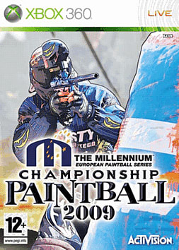 Millenium Series Championship Paintball 2009 Xbox 360 Cover Art