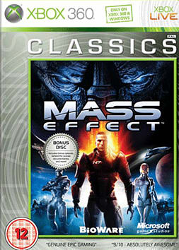 Mass Effect Classic Xbox 360 Cover Art