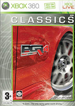 Project Gotham Racing 4 - Classic Xbox 360 Cover Art