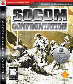 SOCOM Confrontation PlayStation 3 Cover Art
