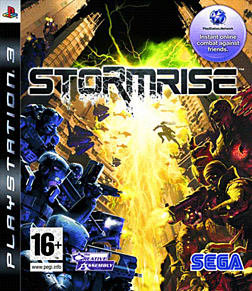Stormrise PlayStation 3 Cover Art