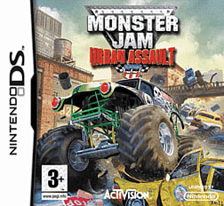Monster Jam Urban Assault DSi and DS Lite Cover Art