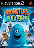 Monsters vs Aliens PlayStation 2