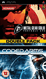 Metal Gear Solid Portable Ops/Coded Arms Doublepack PSP