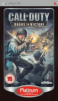 Call of Duty 3: Roads to Victory Platinum PSP Cover Art