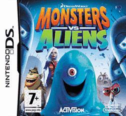 Monsters vs Aliens DSi and DS Lite