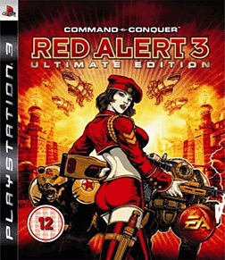 Command and Conquer: Red Alert 3 Ultimate Edition PlayStation 3 Cover Art