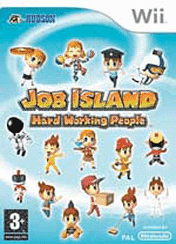 Job Island: Hard Working People Wii Cover Art