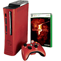 Xbox 360 Limited Edition Red Elite Console with Resident Evil 5 Xbox 360