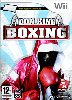 Don King Boxing Wii Cover Art