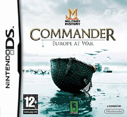 Military History Commander: Europe at War DSi and DS Lite Cover Art